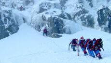 Turyści uratowani z Babiej Góry. Pomagało 24 ratowników