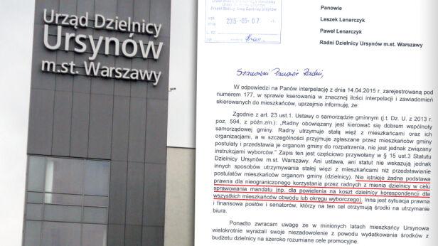 Radni z burmistrzem kłócą się o ksero tvnwarszawa.pl