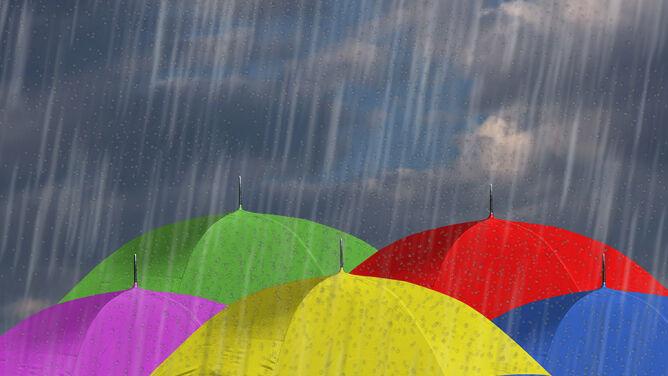 Prognoza pogody na dziś: <br />dużo deszczu i burz. Ciepło