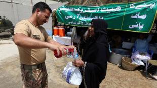 Fala upałów zabija w Pakistanie. Brakuje prądu i wody