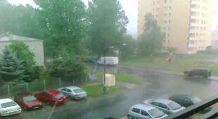 Burza nad Targówkiem (Marcin,Kontakt24)